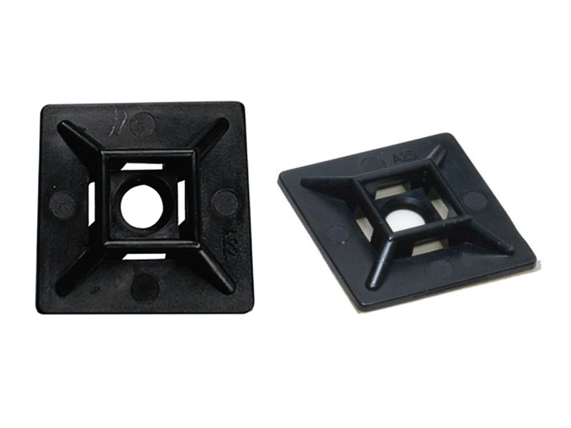 Black and Natural colours Nylon P clips lots of different sizes priced per 100