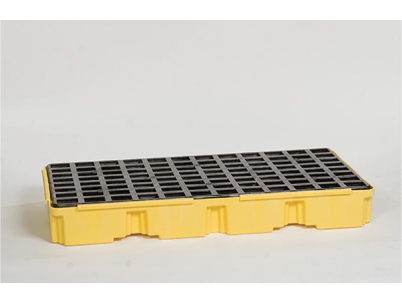 Spill Platform,w//Drain,15 gal.,1 Drum EAGLE 1633D