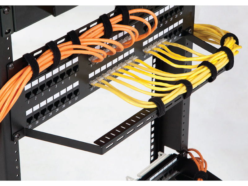 Flanged Lacing Bar Cable Manager
