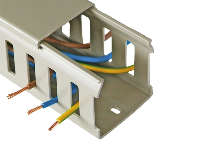 Sensational Closed Slot Wire Duct Wiring 101 Hisonstrewellnesstrialsorg