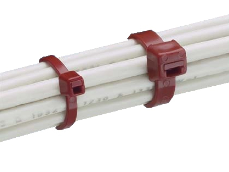 f577e56d8b48 Panduit halar cable ties used for bundling cables.