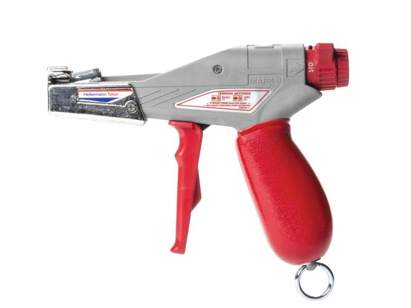 Zip Tie Gun >> Hellerman Tyton Tensioning Cut Off Cable Tie Tool For Stainless Steel Ties Up To 511 13mm Width