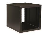 12U compact SOHO server cabinet with no doors