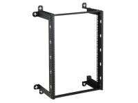 Kendall Howard 16U V-line wall mount rack with 12