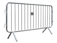 crowd control metal safety barrier
