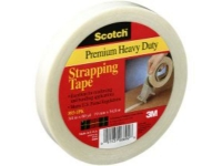 3Mᅠ893 Industrial Strapping Tape - 6 Mil - 3/8