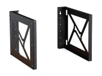 Kendall Howard 8U wall modular mount rack pair