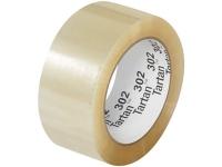3M 302 Carton Sealing Tape - Hand Rolls - Acrylic Adhesive - 1.6 Mil - 2