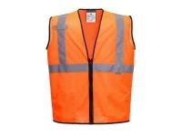PORTWEST Vest Port Alabama Mesh Safety Vest - S - Orange