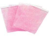 anti static self seal bubble bag pouch