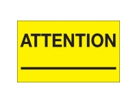 Attention Yellow