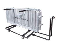 Barricade transport cart