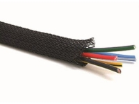 Spool of black Flexo PET sleeving