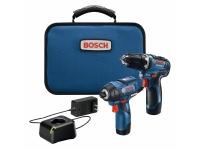 BOSCH Drill / Driver 2-Tool Combo Kit - 12V