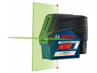 BOSCH Self Levelling Cross Line Laser - Green Beam - 12V - GCL100-80CG