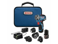 BOSCH Flexiclick 5-In-1 Drill / Driver System - Brushless 12V