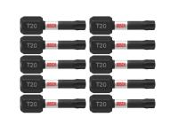 Bosch Itt201B 10 Pc Torx 20 Insert Bits