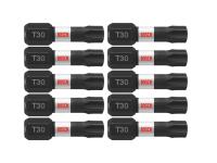 Bosch Itt301B 10 Pc Torx 30 Insert Bits