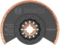 Bosch Osl312Cg Starlock Oscillating Multi Tool Kerf Carbide Grit Grout Grinding Blade 3 And 1 2 Inch X 1 8 Inch