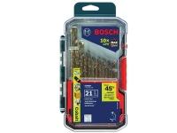 BOSCH Cobalt M42 Drill Bit Set  - 21 pc