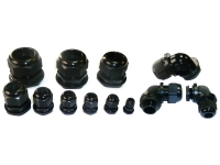 Nylon black cable glands