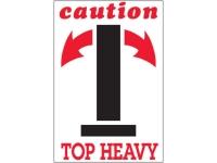 Caution Top Heavy 1791