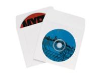 Pack Kontrol Windowed  paper CD/DVD Sleeves - 4 7/8