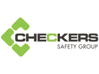 checkers safety group brand logo