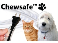 Chewsafe cord cover label