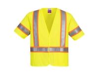 PORTWEST Class 3 FR Mesh Safety Vest - M - Yellow