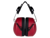 PORTWEST Clip-On Headphone Ear Protector - Red