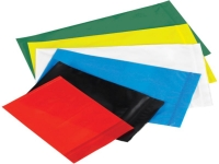 colored reclosable poly bags