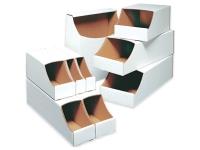 Pack Kontrol Stackable Corrugated Bin Boxes