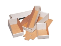 Pack Kontrol White Corrugated Bin Boxes
