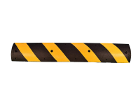 Commercial speed bump, 6' L, Wt: 33#, Yellow/Black