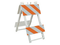 Plastic barricade Type 2-ii,sandbar grade