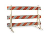 Plastic barricade Type 3-iii, 48