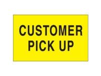 Customer Pick Up Yellow