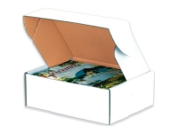 deluxe literature mailers boxes white