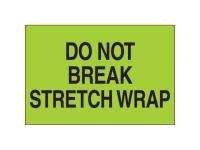 Do Not Break Stretch Wrap Green Solid