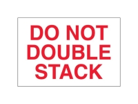 Do Not Double Stack White