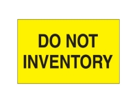 Do Not Inventory Yellow Solid
