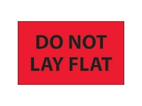Do Not Lay Flat Red Solid