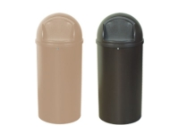 Domed Trash Cans Rubbermaid