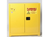 Eagle 22 gallon yellow safety cabinet for corrosive acids