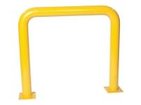 Eagle #1774 steel machinery guard, yellow