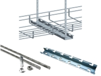 Economical cable tray hanger kit