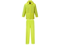 PORTWEST Essentials 2 Piece Rainsuit - S - Yellow