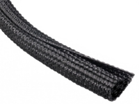 Black F6 Quiet braided wrap