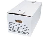 Pack Kontrol Interlocking Flap File Storage Boxes